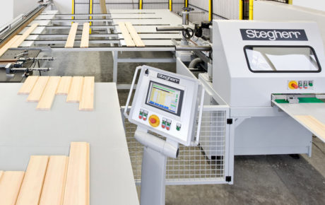 Stegherr Sondermaschinen zur Bearbeitung von Holz, Alu, MDF und PVC Werkstücken