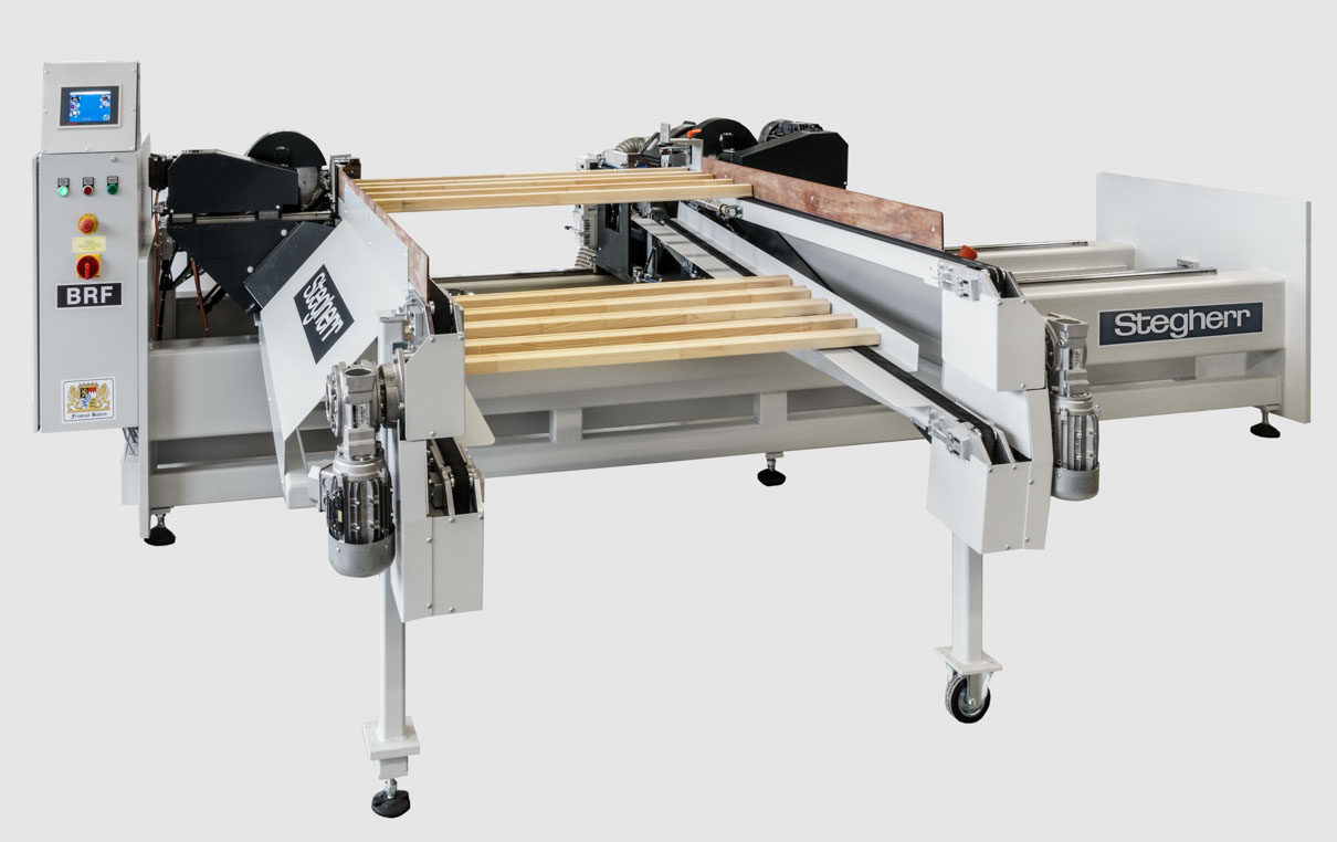 special milling machine for stretcher bars stegherr brf stegherr maschinenbau. Black Bedroom Furniture Sets. Home Design Ideas